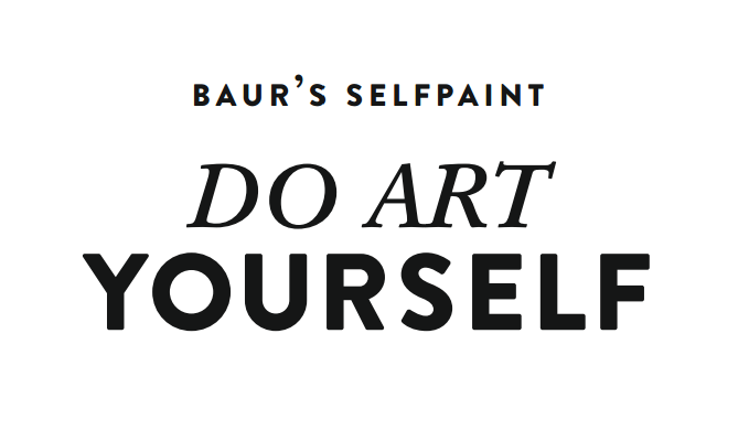 Baurs selfpaint do art yourself